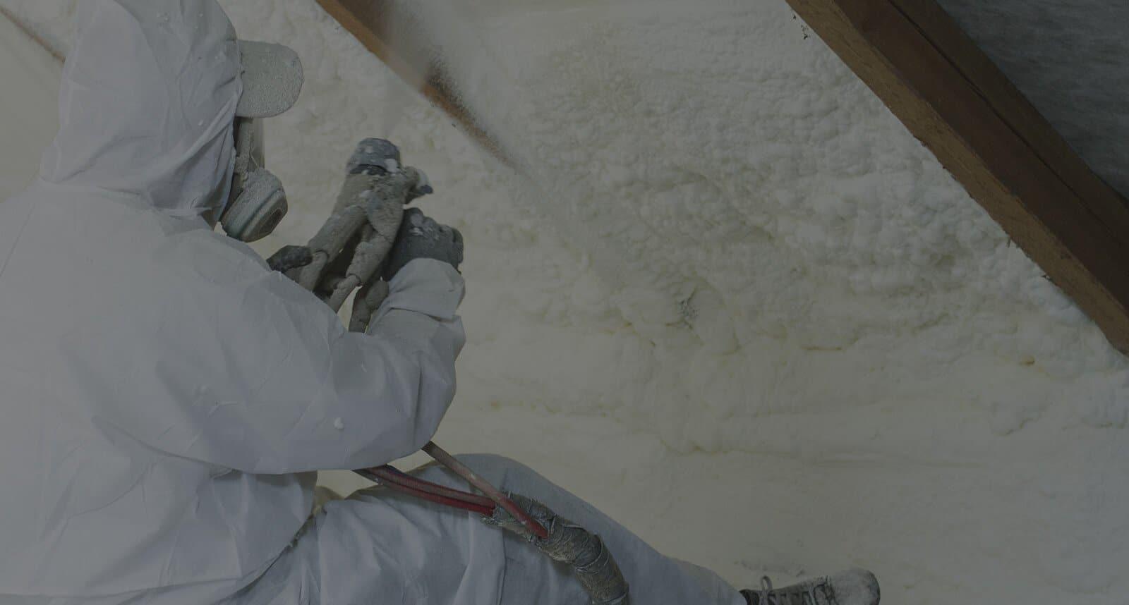 Spray-Foam-Insulation man sitting