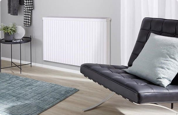 electric radiator and chair