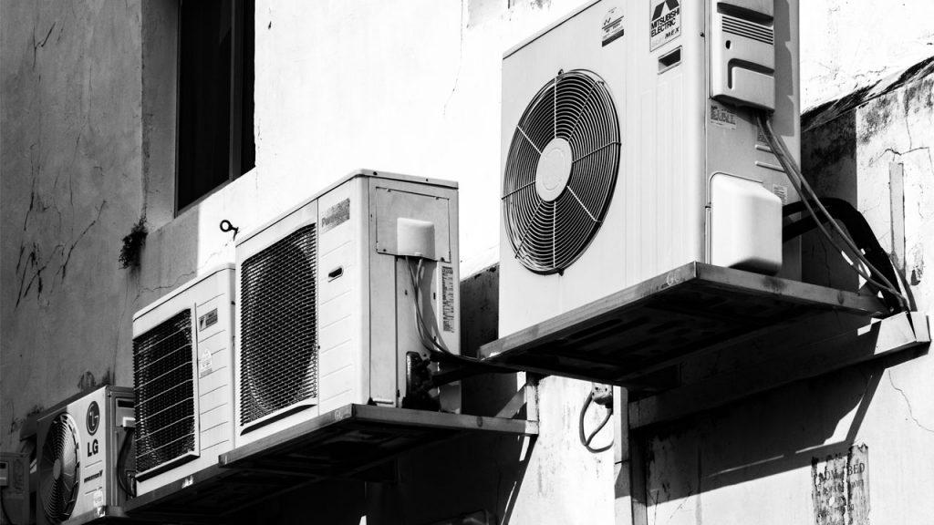 air source heat pumps in a row scotland