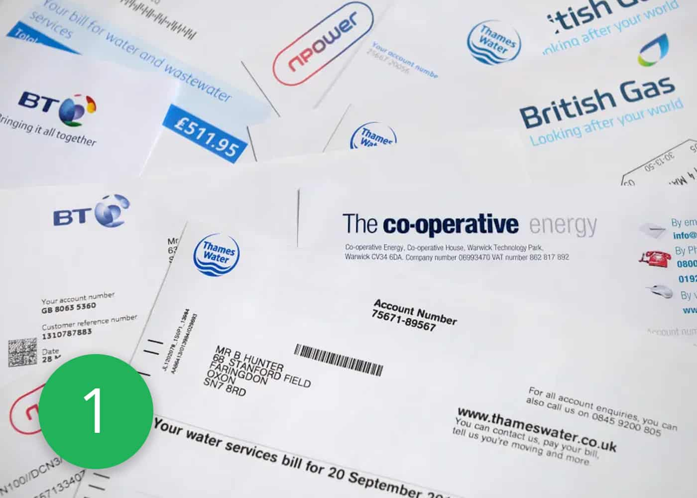 Check your Energy Supplier