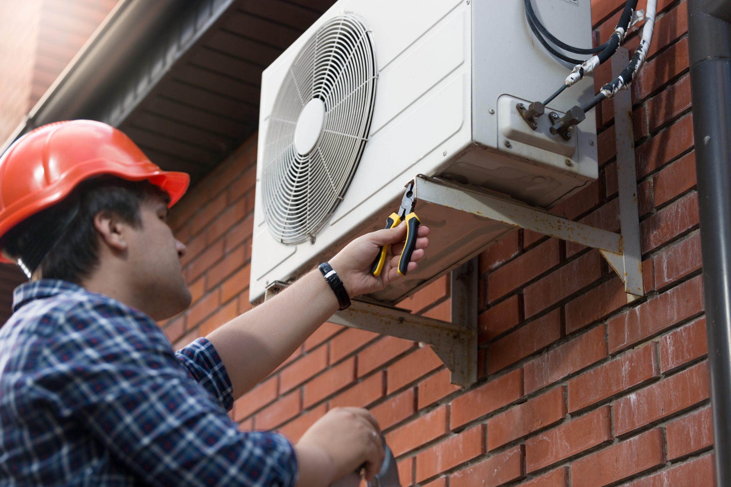 Hybrid Air source Heating Installation